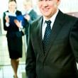 Skilful manager — Stock Photo