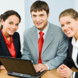 Stock Photo: Business group'gbvf