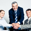Union of partners — Stock Photo #10714369