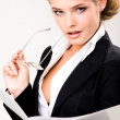 Stock Photo: Business lady