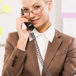 Smart secretary — Stock Photo #10714827