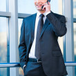 Confident business man - Stock Photo
