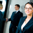 Smiling businesswoman — Stock Photo #10715117