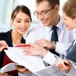 Discussing business plan — Stock Photo #10715192