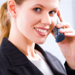Speaking on the phone - Stock Photo