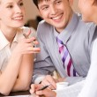 Stockfoto: Business interaction