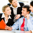 Business group — Stock Photo #10715844