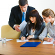 In the boardroom — Stock Photo