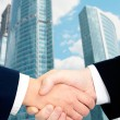 Image of handshaking of business partners — Stock Photo #10716784