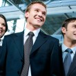 Confident business group — Stock Photo