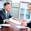 Stock Photo: Business agreement