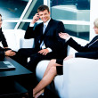 Business conversation — Stock Photo