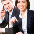 Business partners at work — Stock Photo #10717315