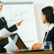 Foto de Stock  : Business briefing