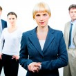 Strong business leader — Stock Photo #10717447