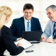 Business group at work — Stock Photo #10717600