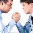 Arm wrestling - Stock Photo