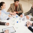 At round table — Stock Photo #10717989