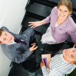 On staircase — Stock Photo