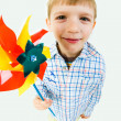 Boy with toy — Stock Photo #10718716