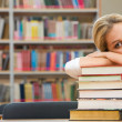 Tired student — Stock Photo #10718885