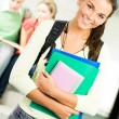 Stock Photo: Cheerful student