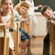 In the classroom - Stock fotografie