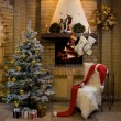 Christmas room — Stock Photo #10719087