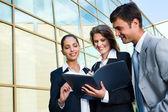 Profitable business agreement — Stock Photo
