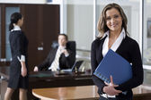 Successful business plan — Stock Photo