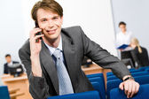 Busy manager — Stock Photo