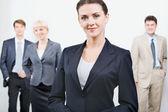 Líder empresarial — Foto de Stock