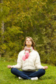 Meditating — Stock Photo