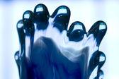 Blue glass — Stock Photo