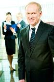 Skilful manager — Stock Photo