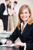 Leader at work — Stock Photo