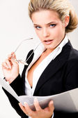 Business lady — Stock Photo