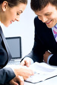 Two business — Stock Photo