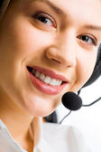 Customer Support Representative — Stock Photo