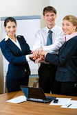 Business partnership — Stock Photo