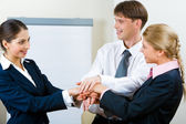 Businessteam — Stock Photo