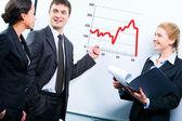 Ensino de negócios — Fotografia Stock