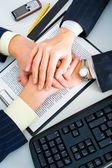 Partnership in business — Stock Photo