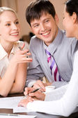 Business interaction — Stock Photo