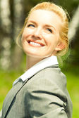 Joyful woman — Stock Photo