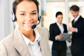 Customer support service — Stock Photo