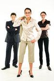 Líder-mulher — Foto Stock