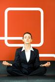 Meditação — Foto Stock