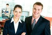 Successful businesspeople — Stock Photo