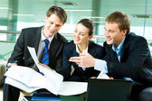 Unternehmenskooperation — Stockfoto
